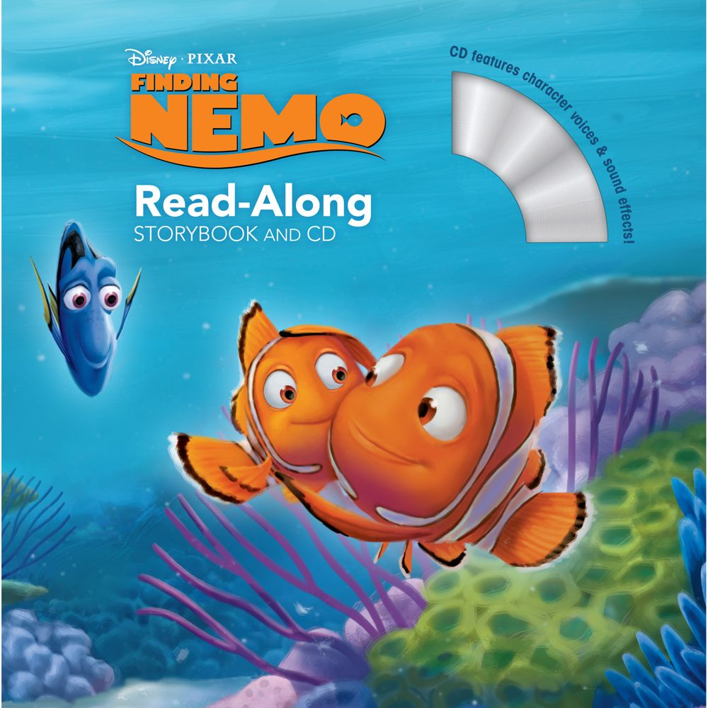 Finding Nemo Read-Along Storybook and CD Official shopDisney