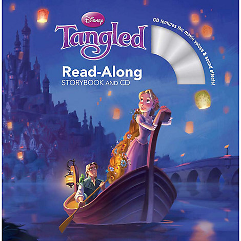 Tangled Read-Along Storybook and CD
