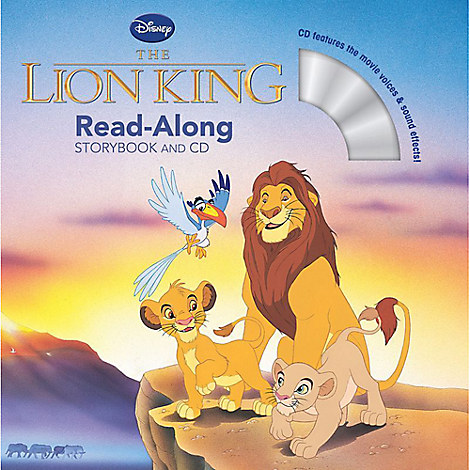 Lion King Read-Along Storybook and CD