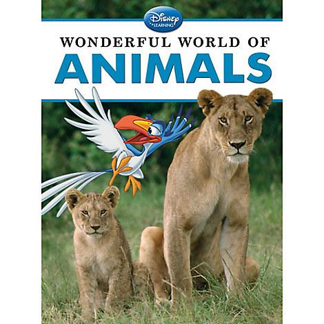 Wonderful World of Animals Book