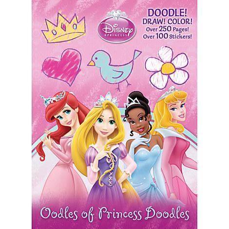 Oodles of Princess Doodles Book - Disney Princess
