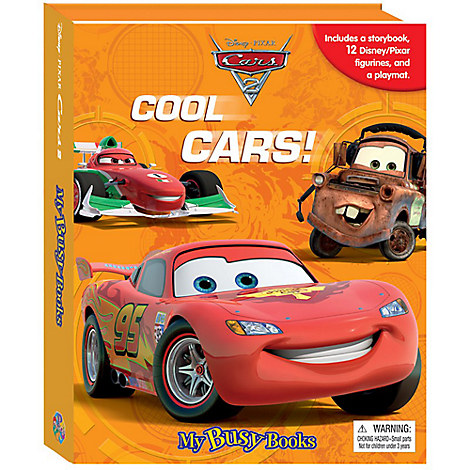 Cars 2 My Busy Book Cool Cars Disney Store