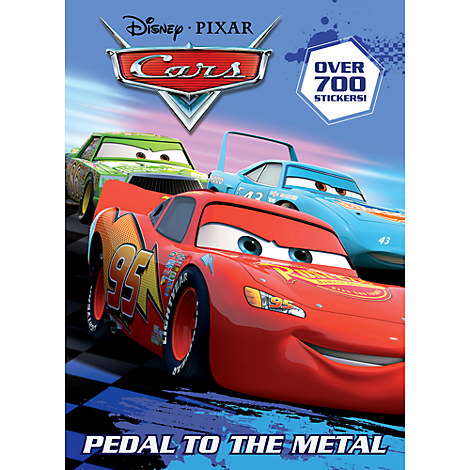 Pedal to the Metal Activity and Sticker Book
