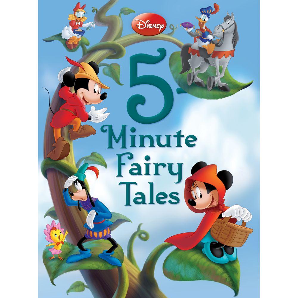 Disney 5-Minute Fairy Tales Book