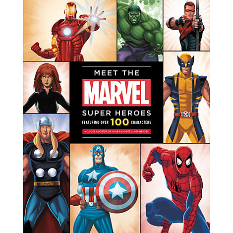 Meet the Marvel Super Heroes Book