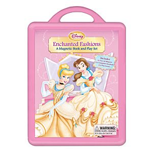 Enchanted Fashions Magnetic Book and Play Set