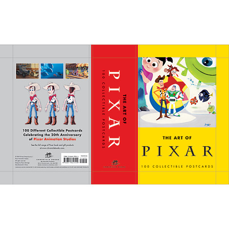 Art of Pixar Postcards - Boxed Set