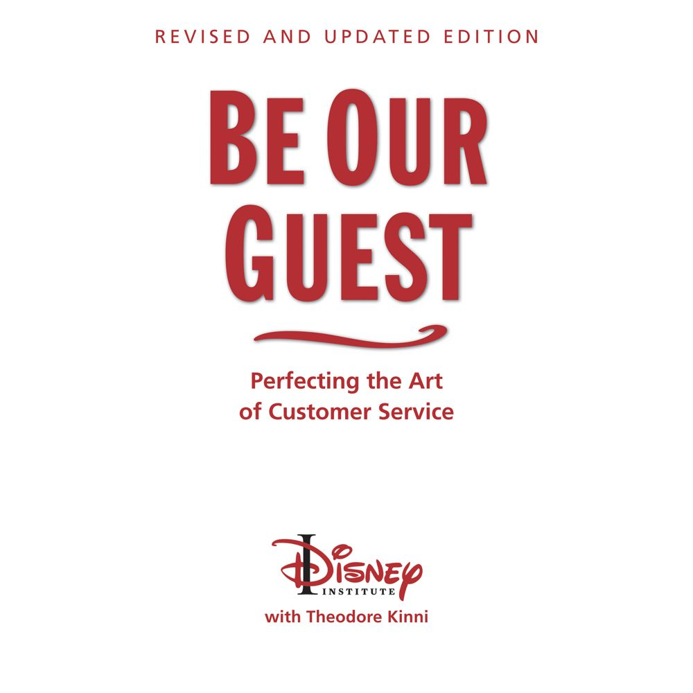 Be Our Guest Book – Perfecting the Art of Customer Service