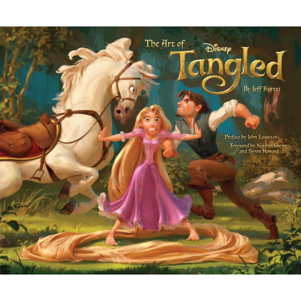 Art of Tangled Book Official shopDisney