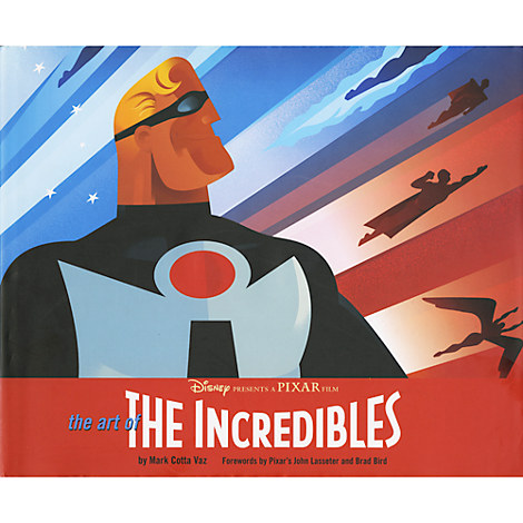 Art of The Incredibles Book