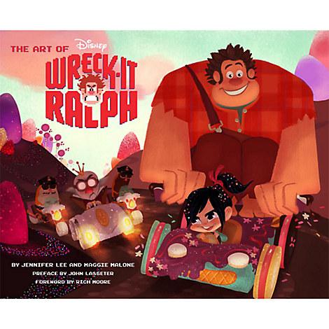 Art of Wreck-It Ralph Book