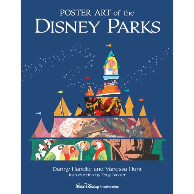 Poster Art of the Disney Parks Book