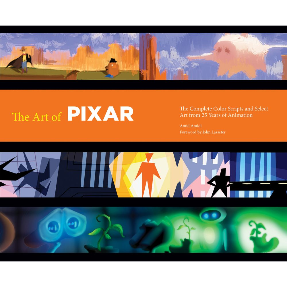 Art of Pixar Book Official shopDisney