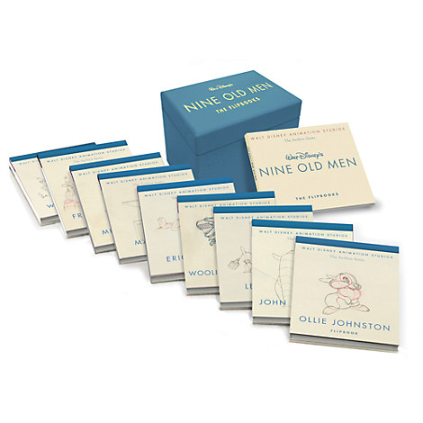 Walt Disney's Nine Old Men Flip Book Set
