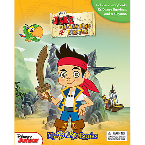 Jake and the Never Land Pirates - My Busy Books