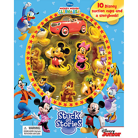 Mickey Mouse Clubhouse Stuck on Stories Book