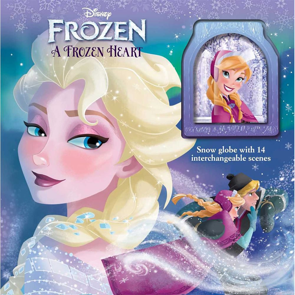 Frozen: A Frozen Heart Storybook and Snowglobe