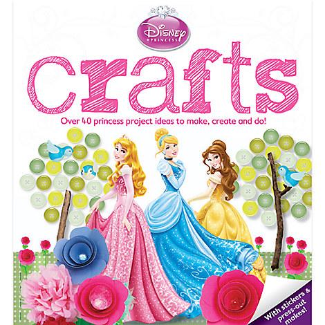 Disney Princess Crafts Book