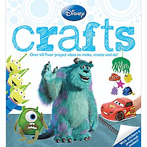 Disney Pixar Crafts Book
