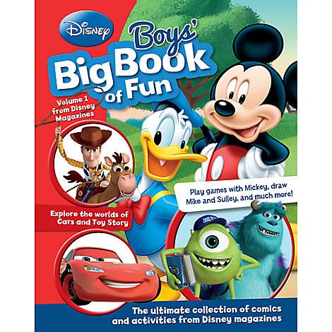 Disney Boys Big Book of Fun