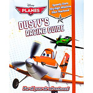Planes Dusty's Racing Guide Book