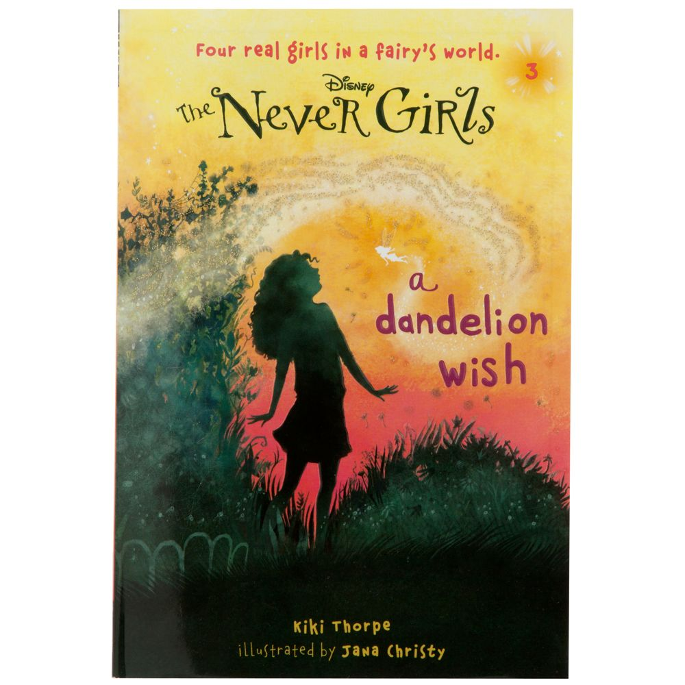 The Never Girls Book  ''A Dandelion Wish'' Official shopDisney