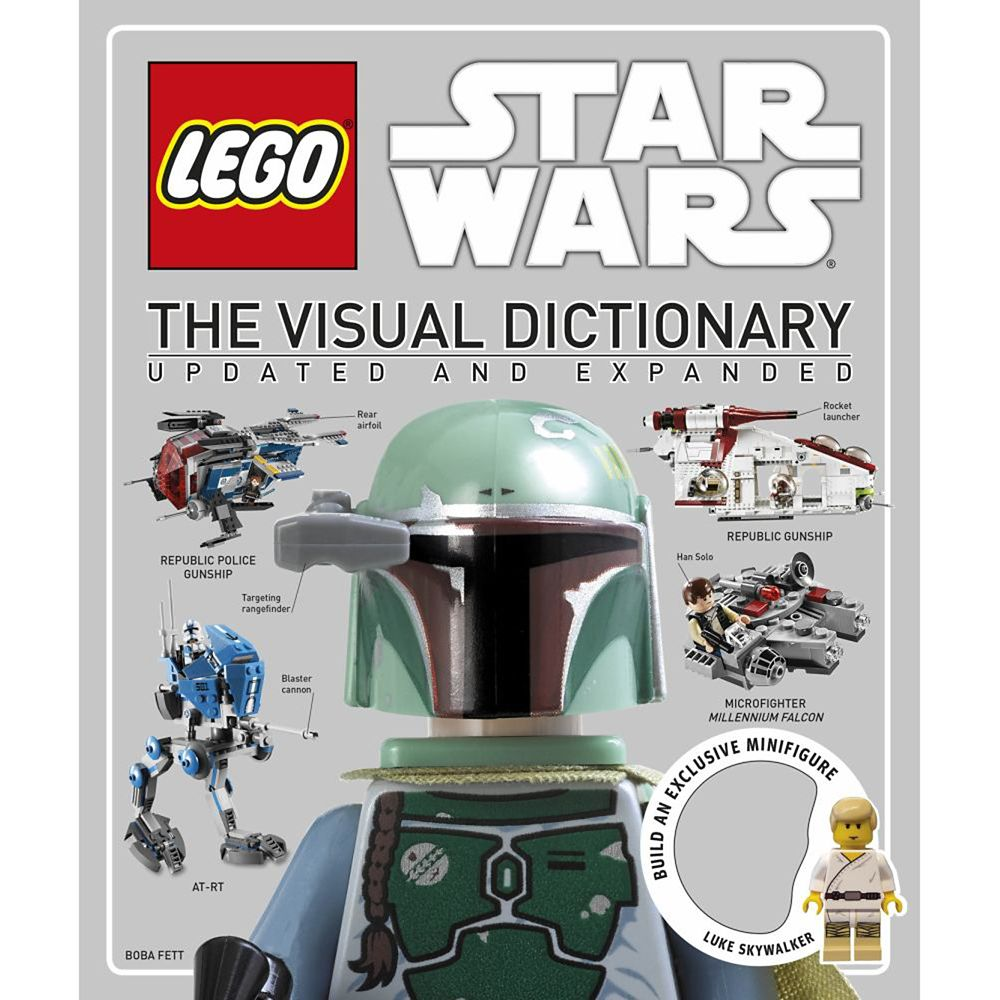 Star Wars LEGO: The Visual Dictionary Book Official shopDisney