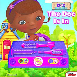 Doc McStuffins The Doc Is In Book