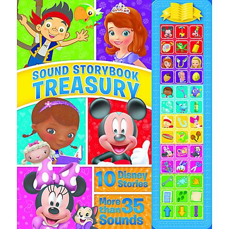 Disney Junior Sound Storybook Treasury Book
