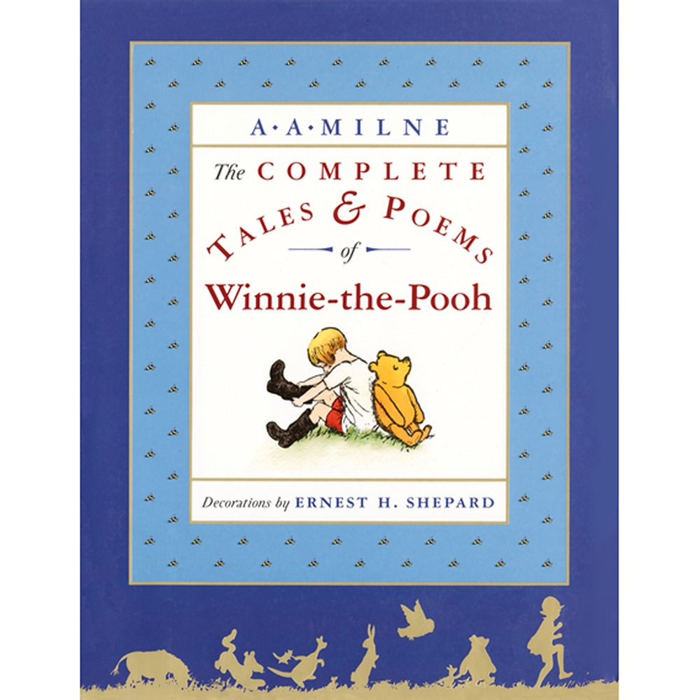 Winnie-the-Pooh The Complete Tales & Poems Book Official shopDisney