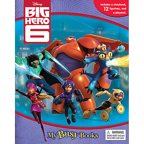 Big Hero 6 My Busy Book