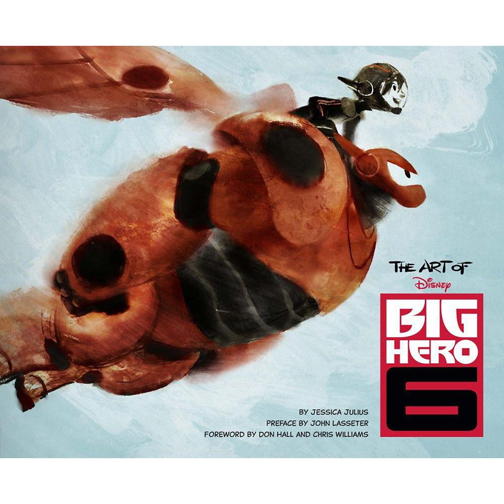 The Art of Big Hero 6 Book Official shopDisney