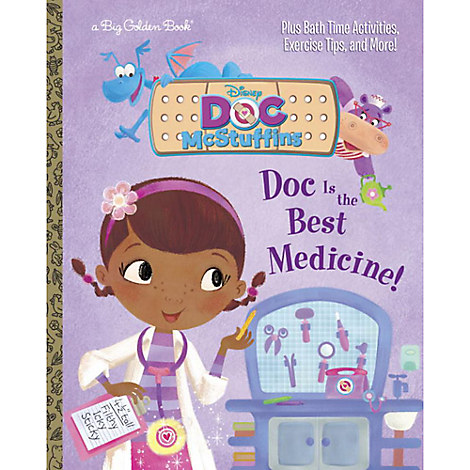 Doc McStuffins: Doc is the Best Medicine! - Big Golden Book