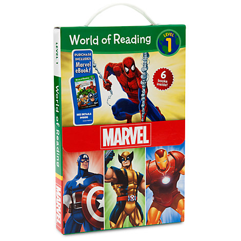 Marvel World of Reading Book Set - Level 1