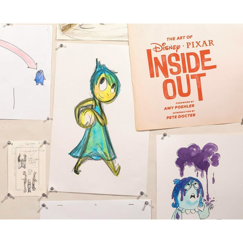 The Art of PIXAR Inside Out Book