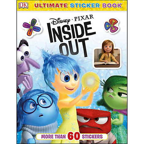 Disney•Pixar Inside Out Ultimate Sticker Book