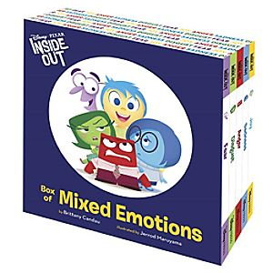 PIXAR Inside Out Box of Mixed Emotions Book