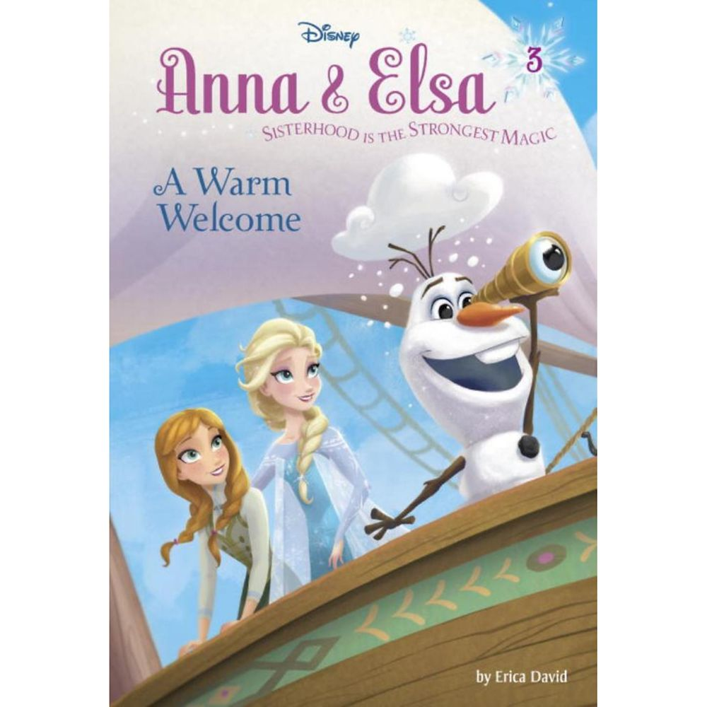 Anna & Elsa 3: A Warm Welcome Book