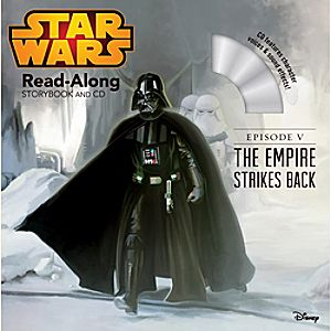 Star Wars Episode V: The Empire Strikes Back Read-Along Storybook and CD 7741055951550P