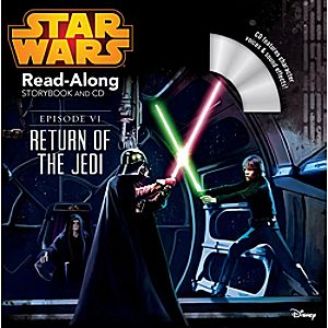 Star Wars Episode VI: The Return of the Jedi Read-Along Storybook and CD 7741055951552P