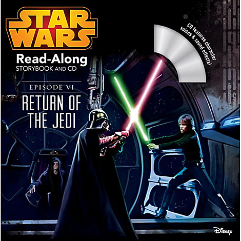 Star Wars Episode VI: The Return of the Jedi Read-Along Storybook and CD