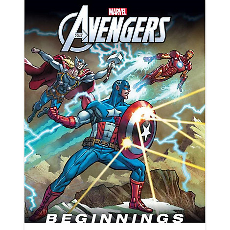 The Avengers: Beginnings Book