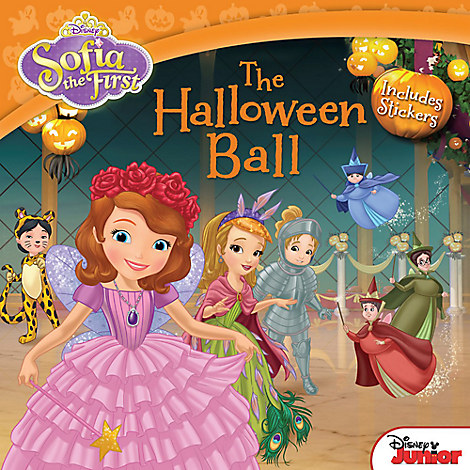 Sofia the First The Halloween Ball Book