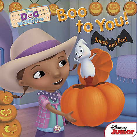 Doc McStuffins Boo to You! Book