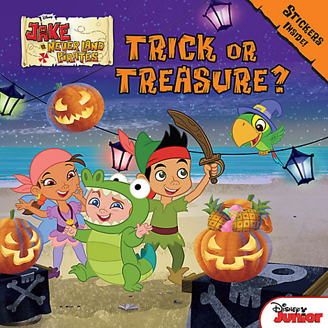 Jake and the Never Land Pirates Trick or Treasure Book