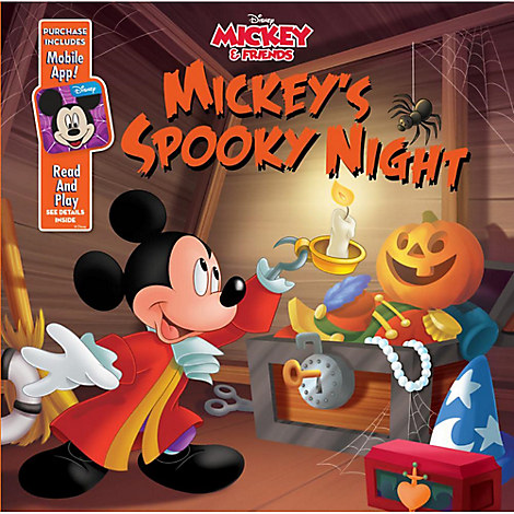 Mickey & Friends: Mickey's Spooky Night Book