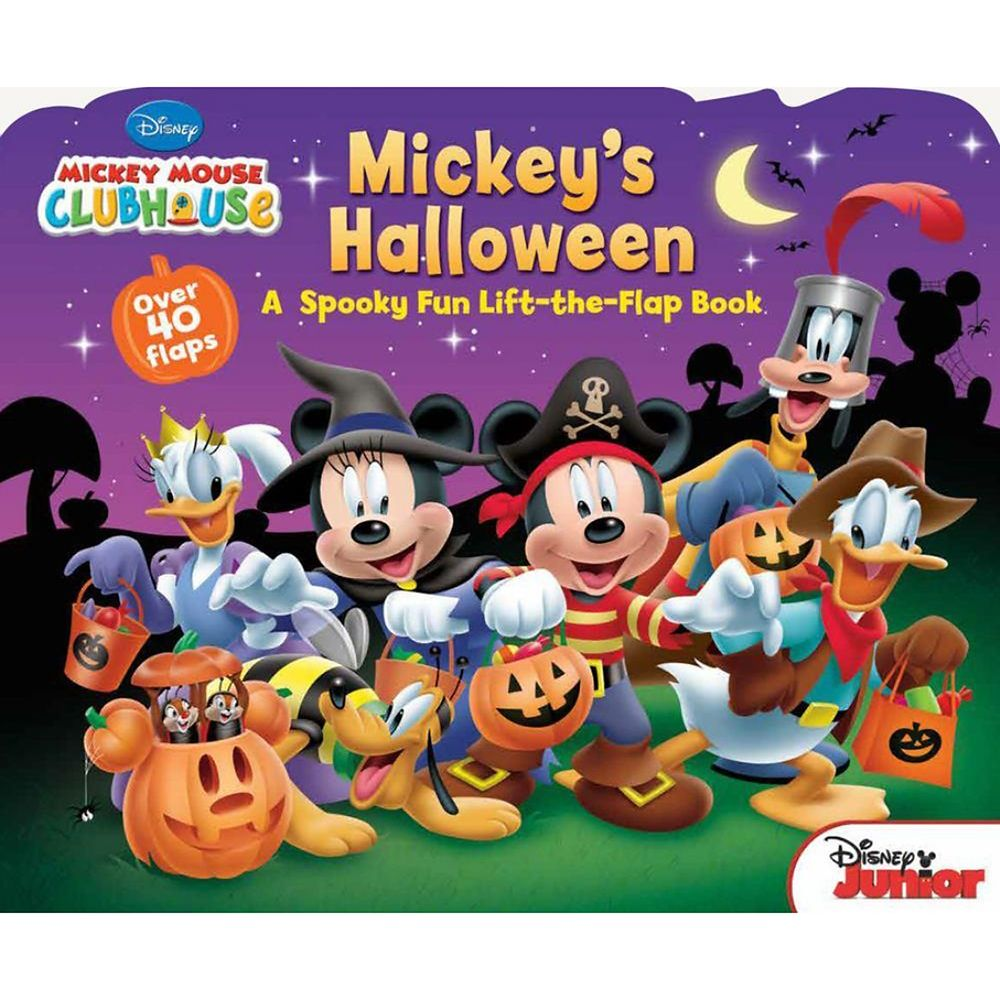 Mickey's Halloween: A Spooky Fun Lift-the-Flap Book