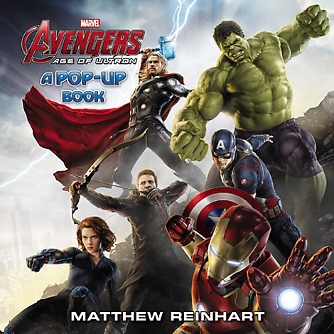 Marvel's Avengers: Age of Ultron A Pop-Up Book