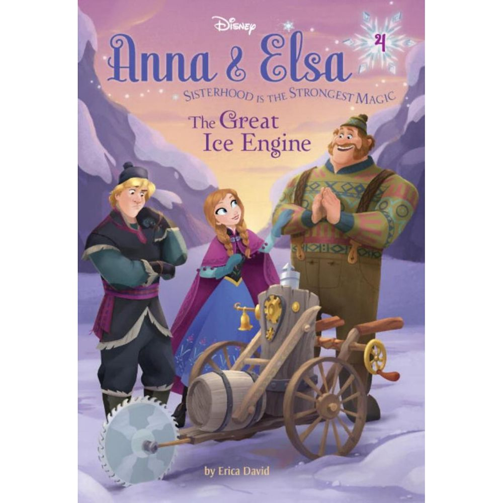 Anna & Elsa 4 The Great Ice Engine Book Official shopDisney