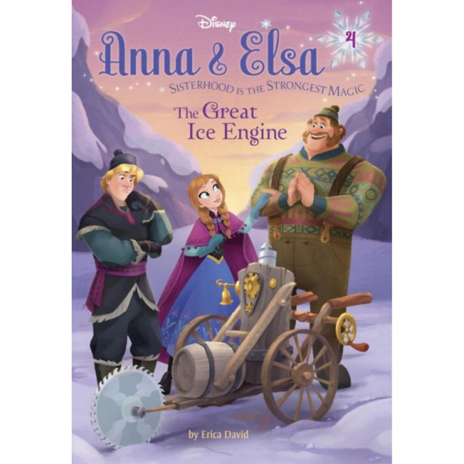 Anna & Elsa 4 The Great Ice Engine Book